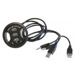 USB Kabeļu bukse