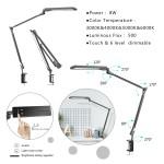 LED Lampa D500