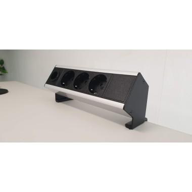 FLEX Power strāvas pagarinātājs pie galda