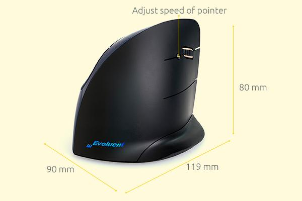 evoluent mouse c wireless ergonomic vertical wireless mouse 1467810651