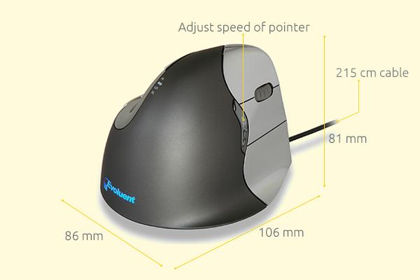 evoluent4 ergonomic vertical mouse 1467633349